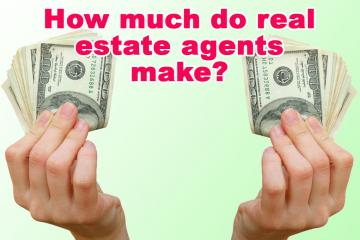 How much do real estate agents make?